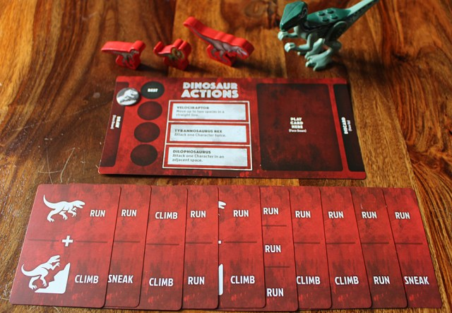 Dinosaur Player's Cards and Player Mat, Image: Sophie Brown
