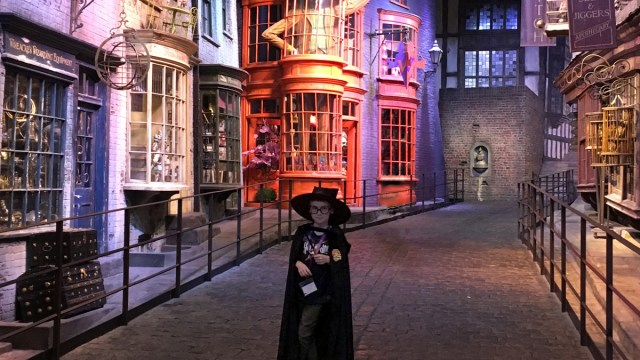 My Son at The Harry Potter Studios Tour, Image: Sophie Brown