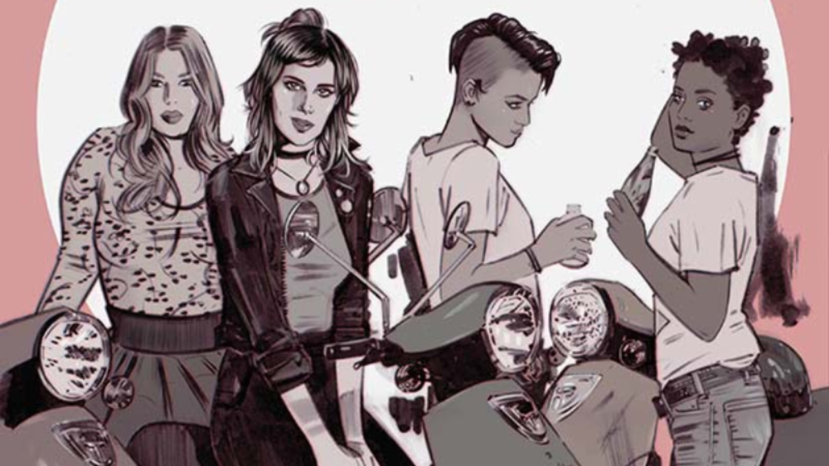 Image from Issue #1 of Nancy Drew