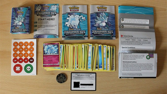 Pokemon Trainer Kit Components, Image: Sophie Brown