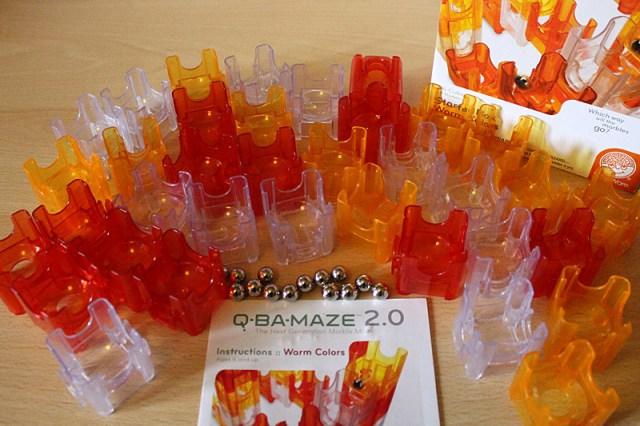 Q-Ba-Maze 2.0 Starter Set Contents, Image: Sophie Brown