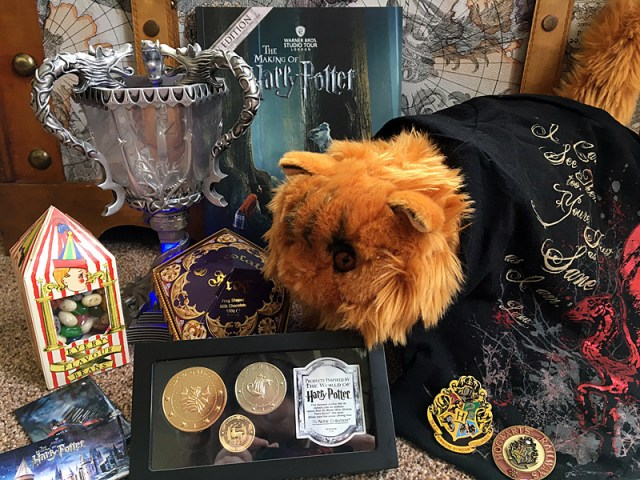 Sample Merchandise From The Gift Shop at the Harry Potter Studios Tour, Image: Sophie Brown