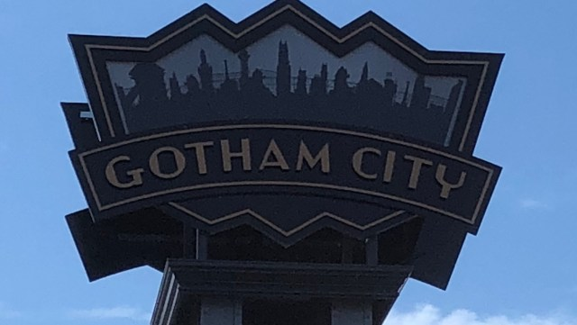 Gotham City at Six Flags New England