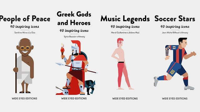 40 Inspiring Icons Covers, Image: Wide Eyed Editions