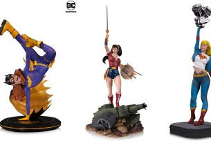 DC Power Women Statues \ Images: DC Comics