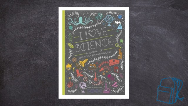 I Love Science Journal for Self-Discovery \ Image: Ten Speed Press