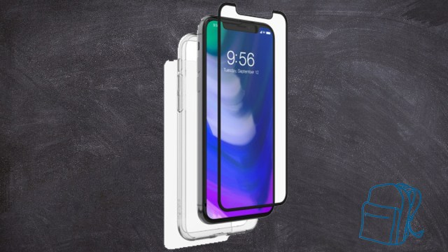 InvisibleShield Glass+ 360° for the Apple iPhone X \ Image: Zagg
