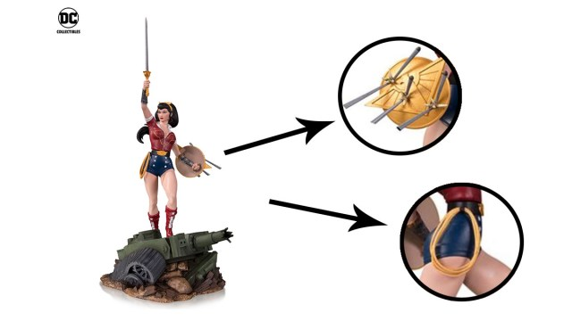 Wonder Woman Detail \ Images: DC Comics