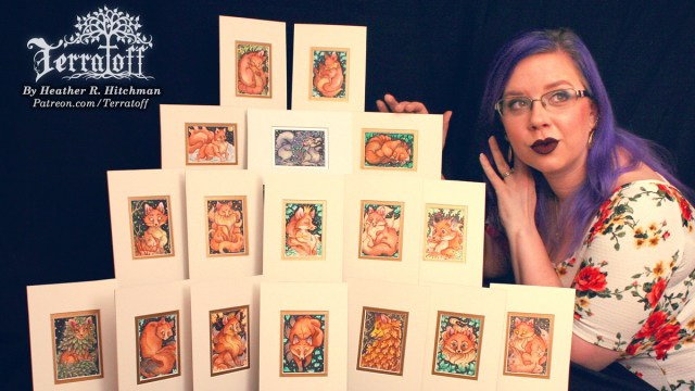 Heather's Kitsune Collection from the Terratoff art series