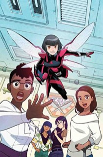 Cover Image from 2018 Unstoppable Wasp #1