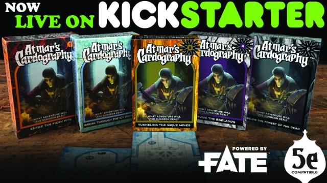 Atmar's Cardography on Kickstarter