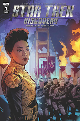 Star Trek: Discovery: Succession variant cover