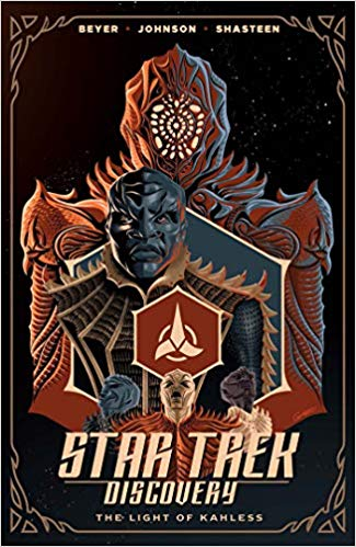 light of kahless trade paperback cover