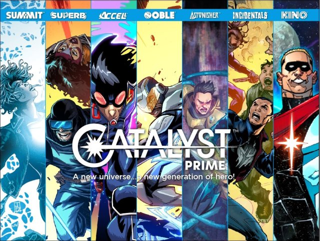 Lion Forge Catalyst Prime