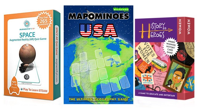 Educational Card Games, Images: AugmentifyIt, Wildcard Games, History Heroes