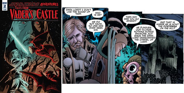 Tales From Vader's Castle #2, Images: IDW Publishing