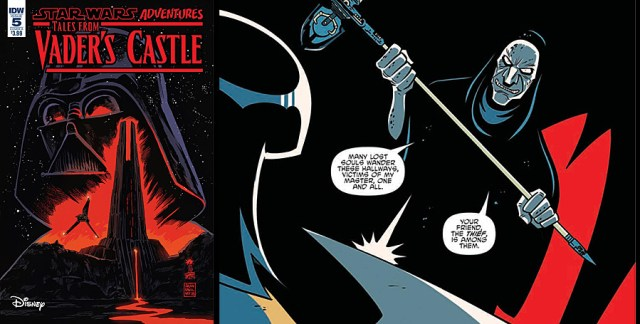 Tales From Vader's Castle #5, Images: IDW Publishing