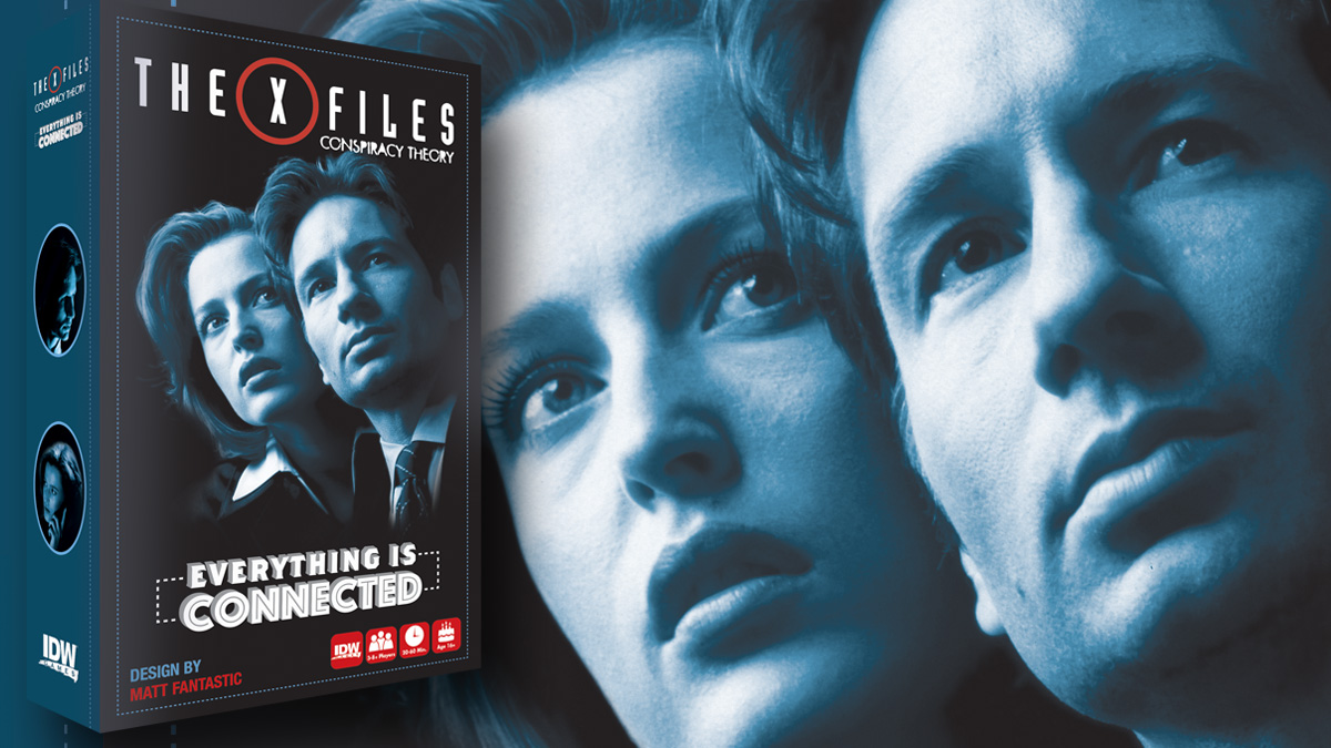 The X-Files Conspiracy Theory: Everything is Connected, Image: IDW Games