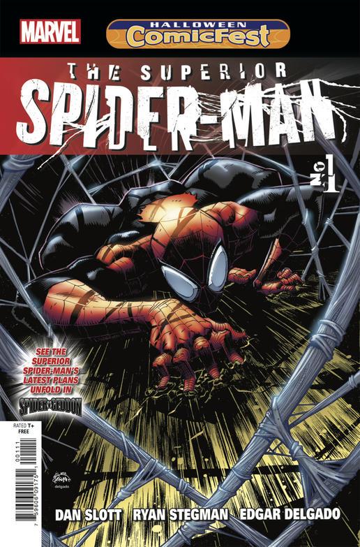The Superior Spider-Man #1 Comicfest 2018, via Marvel Comics