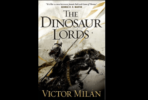 Book cover photo of 'The Dinosaur Lords' by Victor Milan