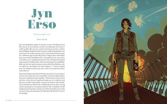 Jyn Erso - Artist: Sara Kipin, Image © 2018 Lucasfilm Ltd. All Rights Reserved. Used Under Authorization