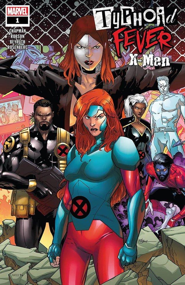 Typhoid Fever X-Men #1 cover art