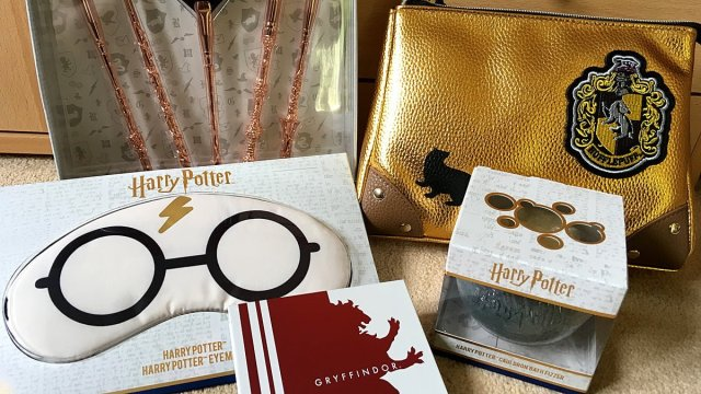 A Sample of the Boots Harry Potter Cosmetics Range, Image: Sophie Brown