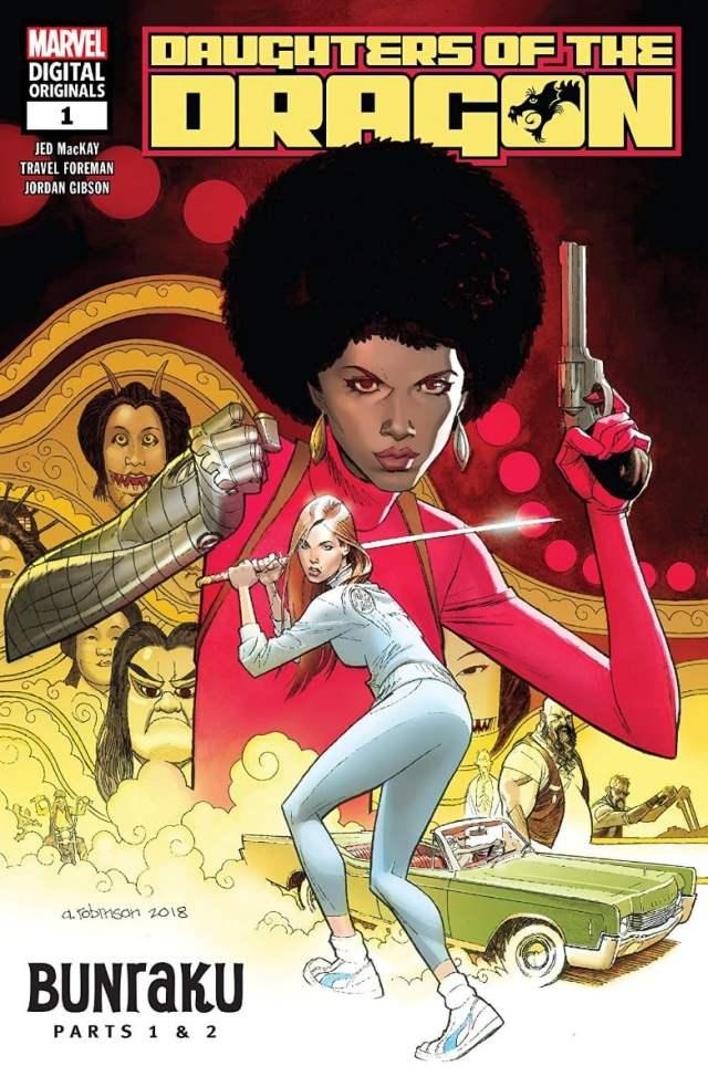 new comics marvel digital original daughters of the dragon