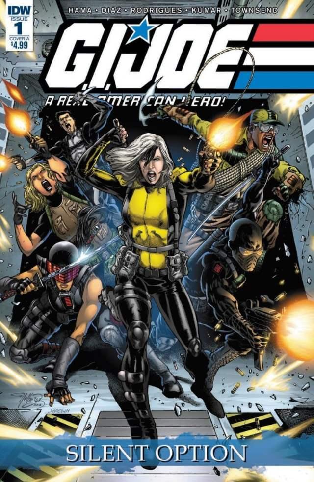 New comics Silent Option #1 cover