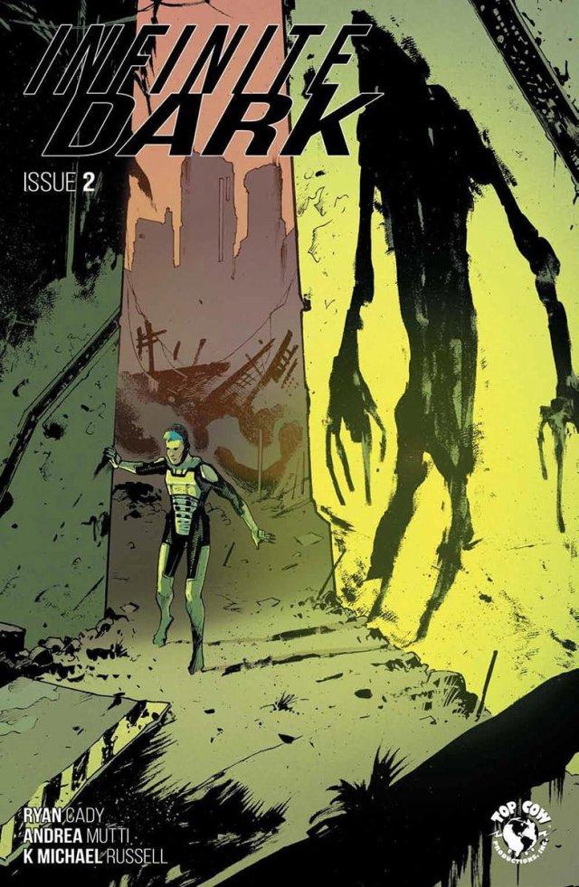 Cover of Infinite Dark, Issue #2