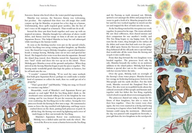 Page Spread from Power to the Princess, Image: Quarto Publishing