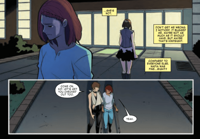Panels from issue #4 of Unstoppable Wasp