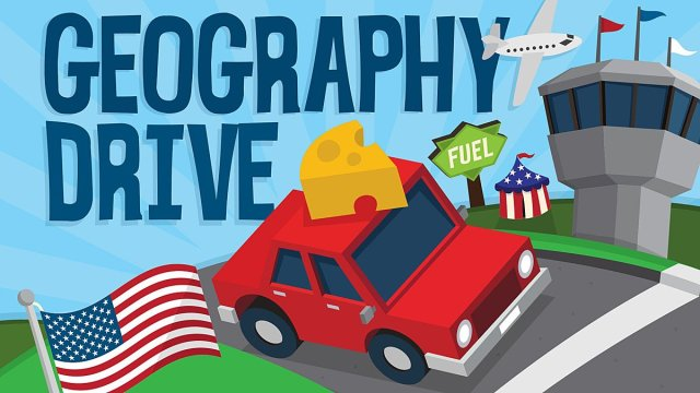 Geography Drive USA, Image: Little 10 Robot