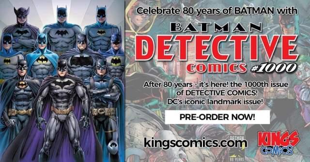 Batman 1000 Giveaway