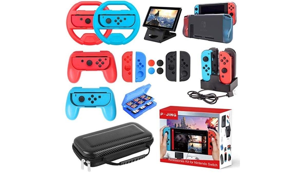 Geek Daily Deals Mar 16 2019 17 Piece Nintendo Switch Accessories Box Set Just 42 Today Geekmom