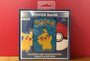 Pikachu Powerbank from OTL Technologies, Image: Sophie Brown
