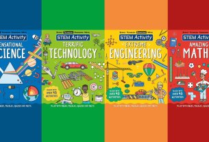 STEM Activity Series, Image: Sophie Brown, Covers: Carlton