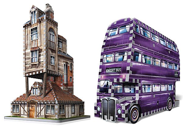The Burrow and Knight Bus Puzzles, Images: Wrebbit