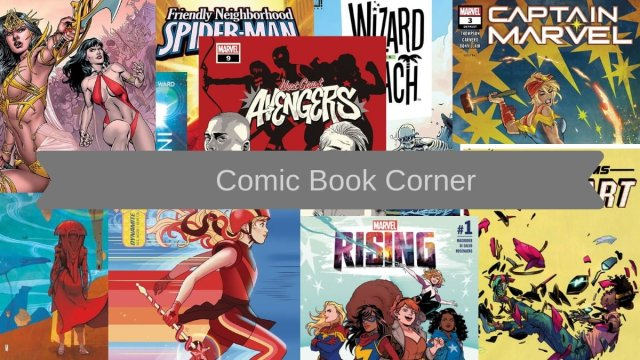 Comic Book Corner collage