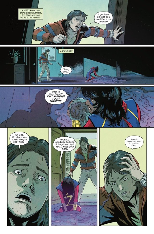 'The Magnificent Ms. Marvel #2' sample page 2