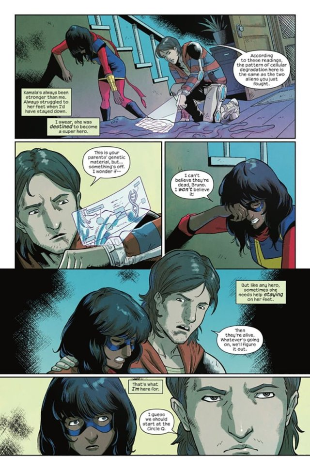 'The Magnificent Ms. Marvel #2' sample page 3