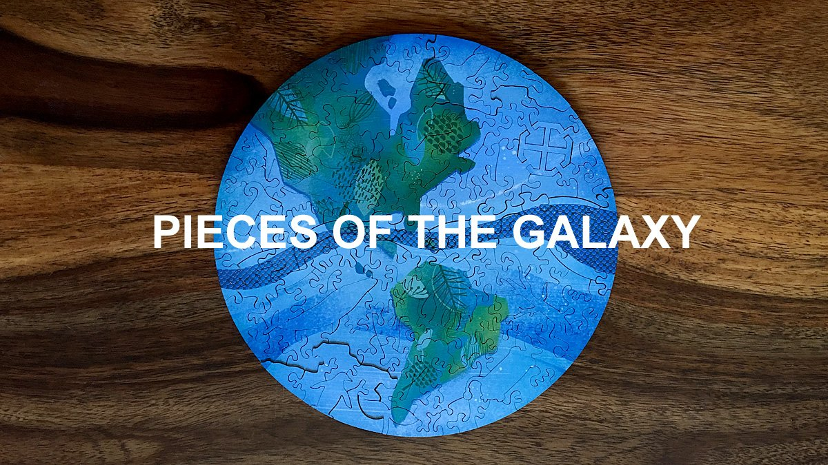 Pieces of the Galaxy, Image: Sophie Brown