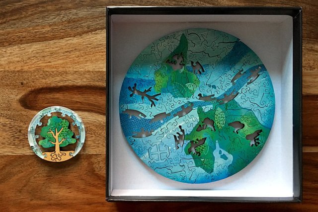 The Puzzle Within the Earth Puzzle, Image: Sophie Brown