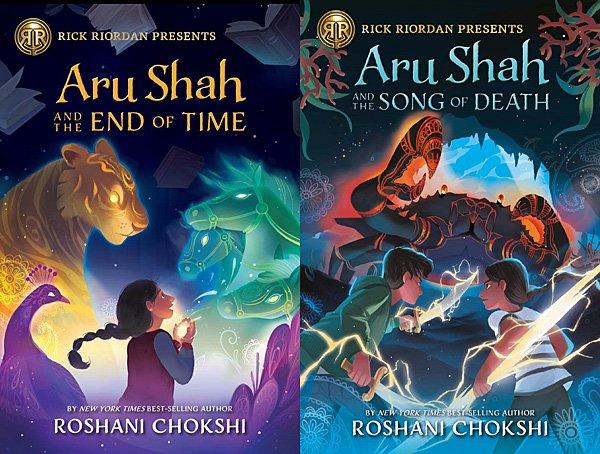 Aru Shah Books, Images: Disney-Hyperion (Rick Riordan Presents)