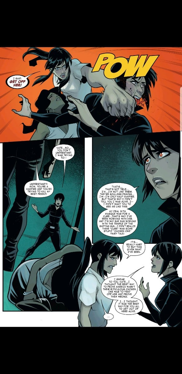 West Coast Avengers Issue #10 tries to wrap up Kate and her Mom's issues too fast