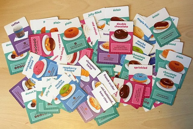 Go Nuts for Donuts Cards, Image: Sophie Brown