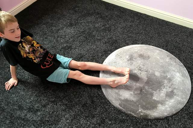 Kid's First Step on the Moon, Image: Sophie Brown