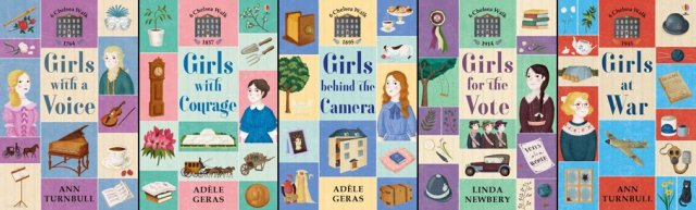 Other books in the 6 Chelsea Walk series, Images: Usborne Publishing