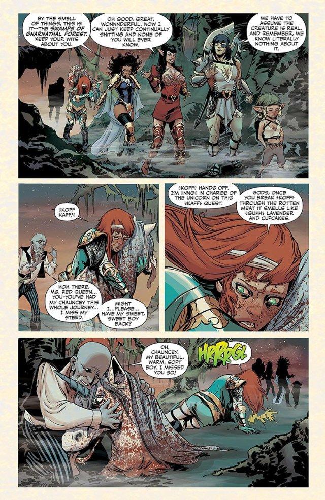 Rat Queens Swamp Romp page 8