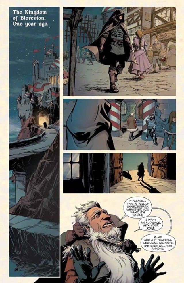 'Rat Queens #16' Page 1